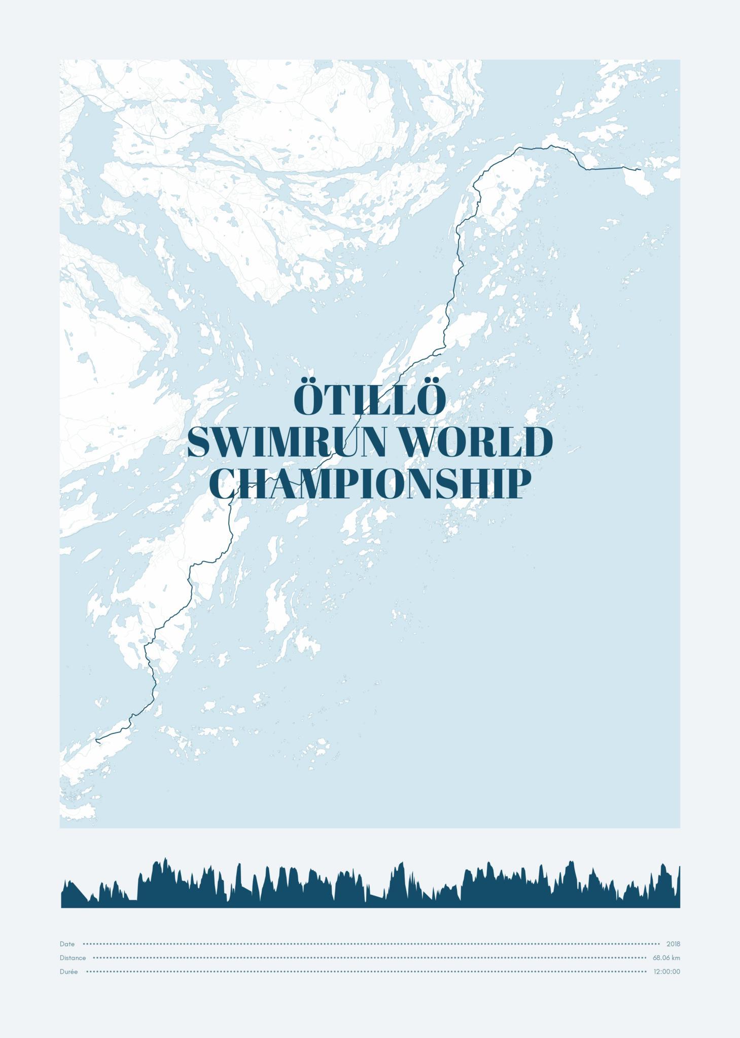 poster-Ötillö  Swimrun World  Championship