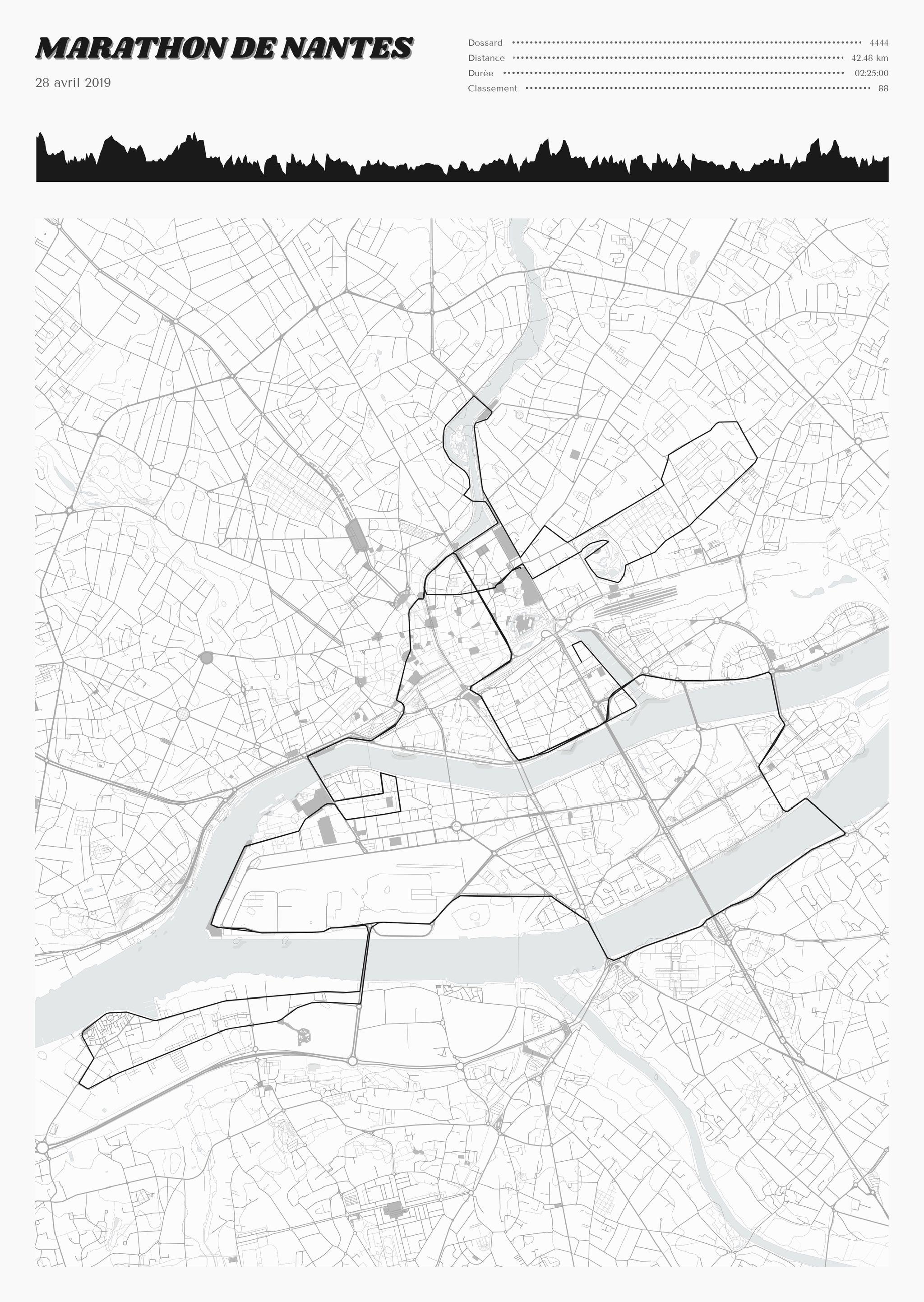 poster-Marathon de Nantes