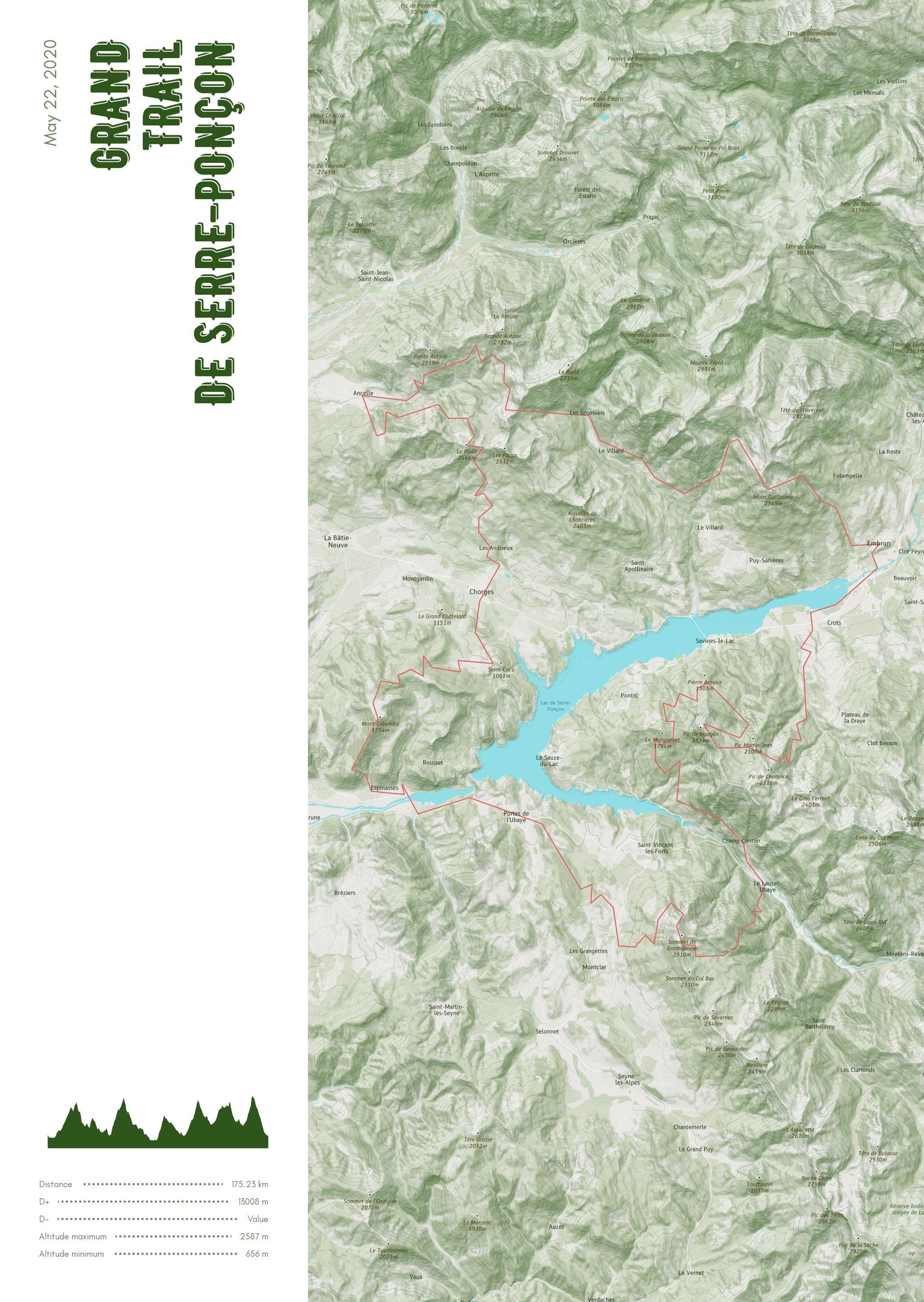 poster-Grand  Trail  de Serre-Ponçon
