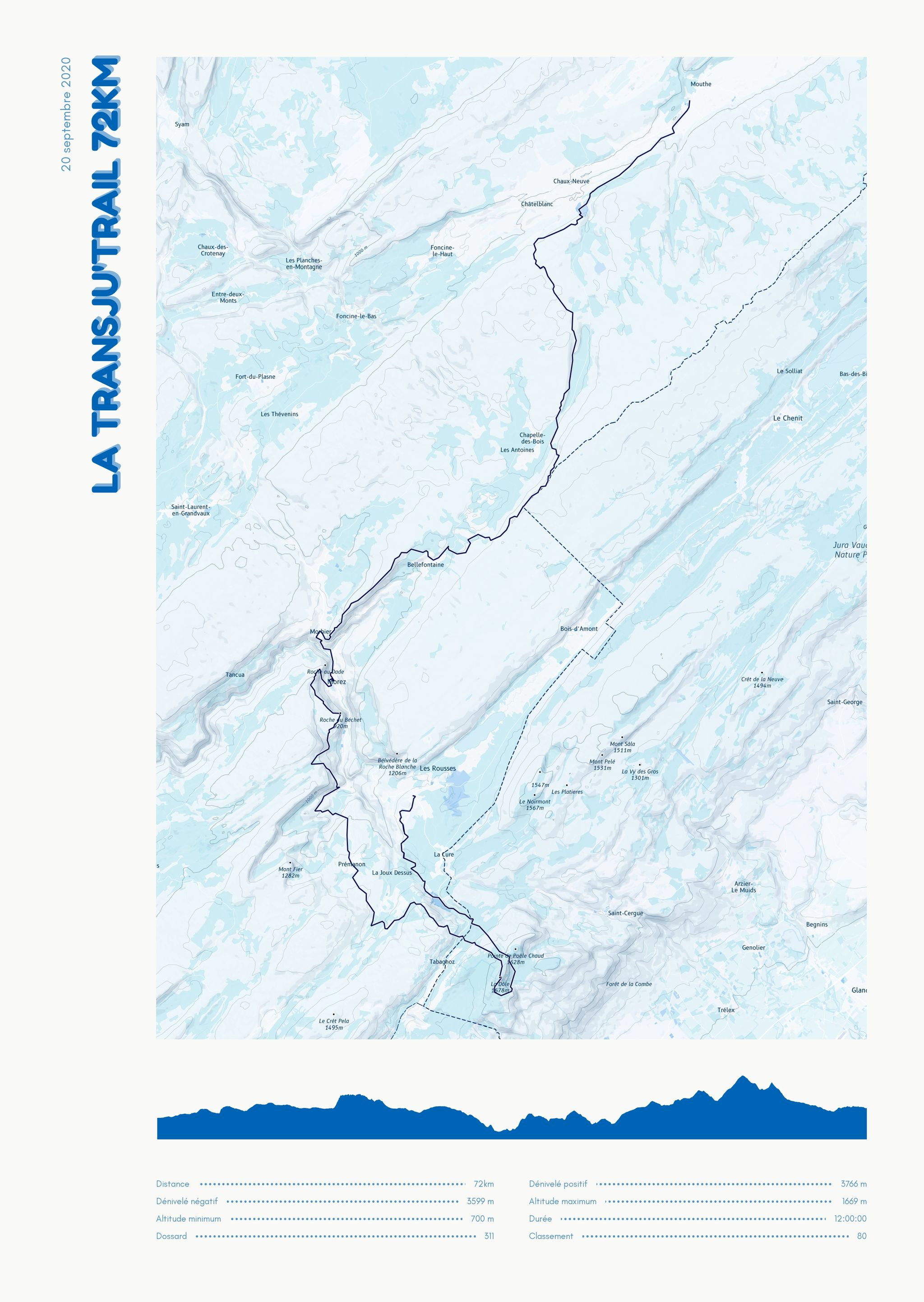 poster-La Transju'Trail 72km