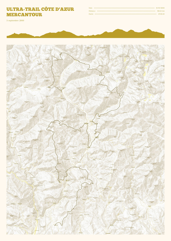 poster-Ultra-Trail Côte d'Azur Mercantour