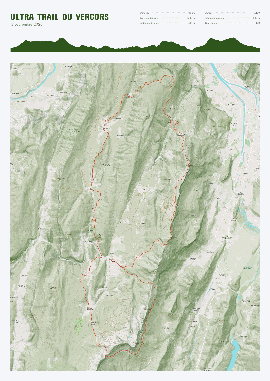 poster-Ultra Trail du Vercors