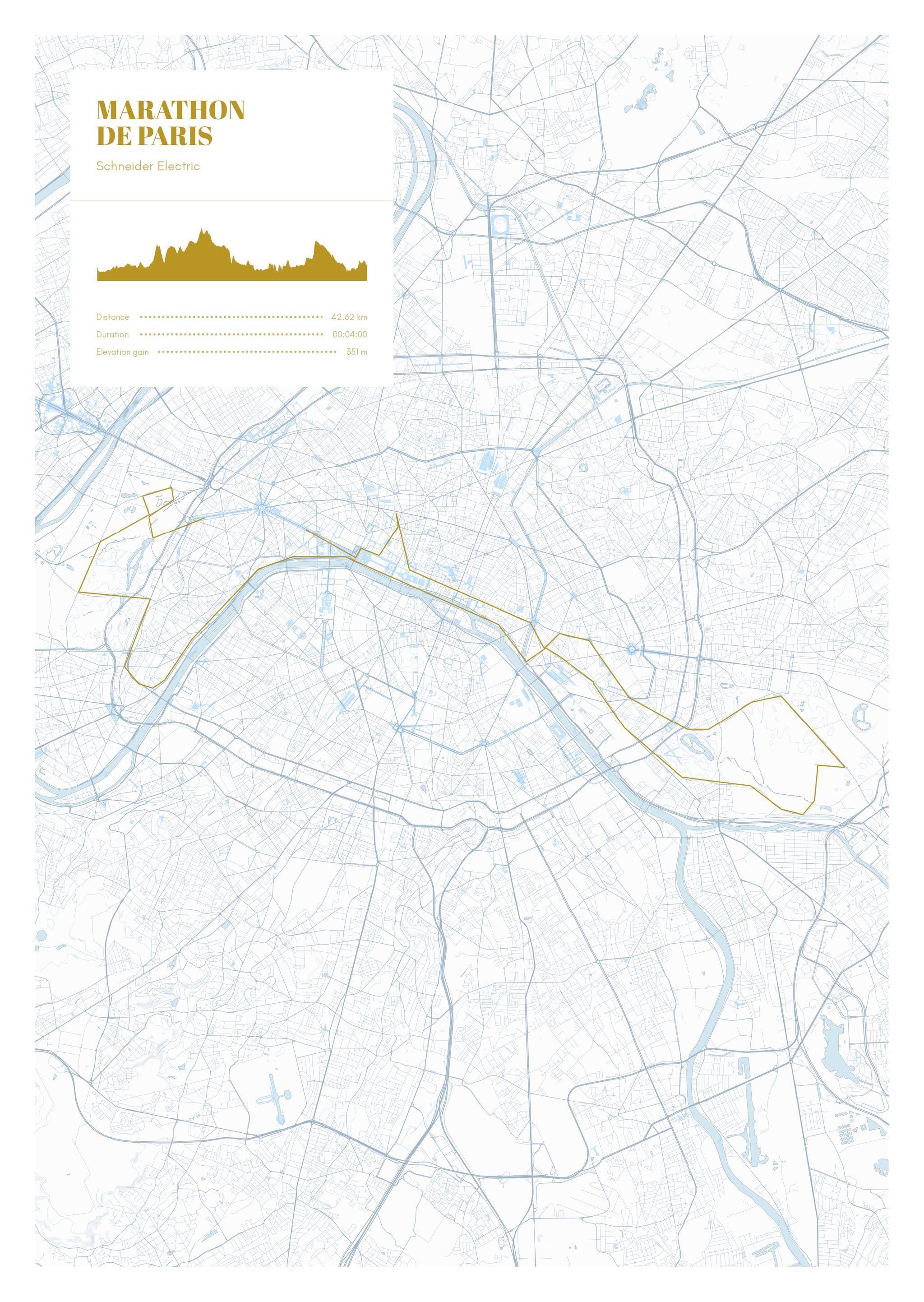poster-Marathon  de Paris