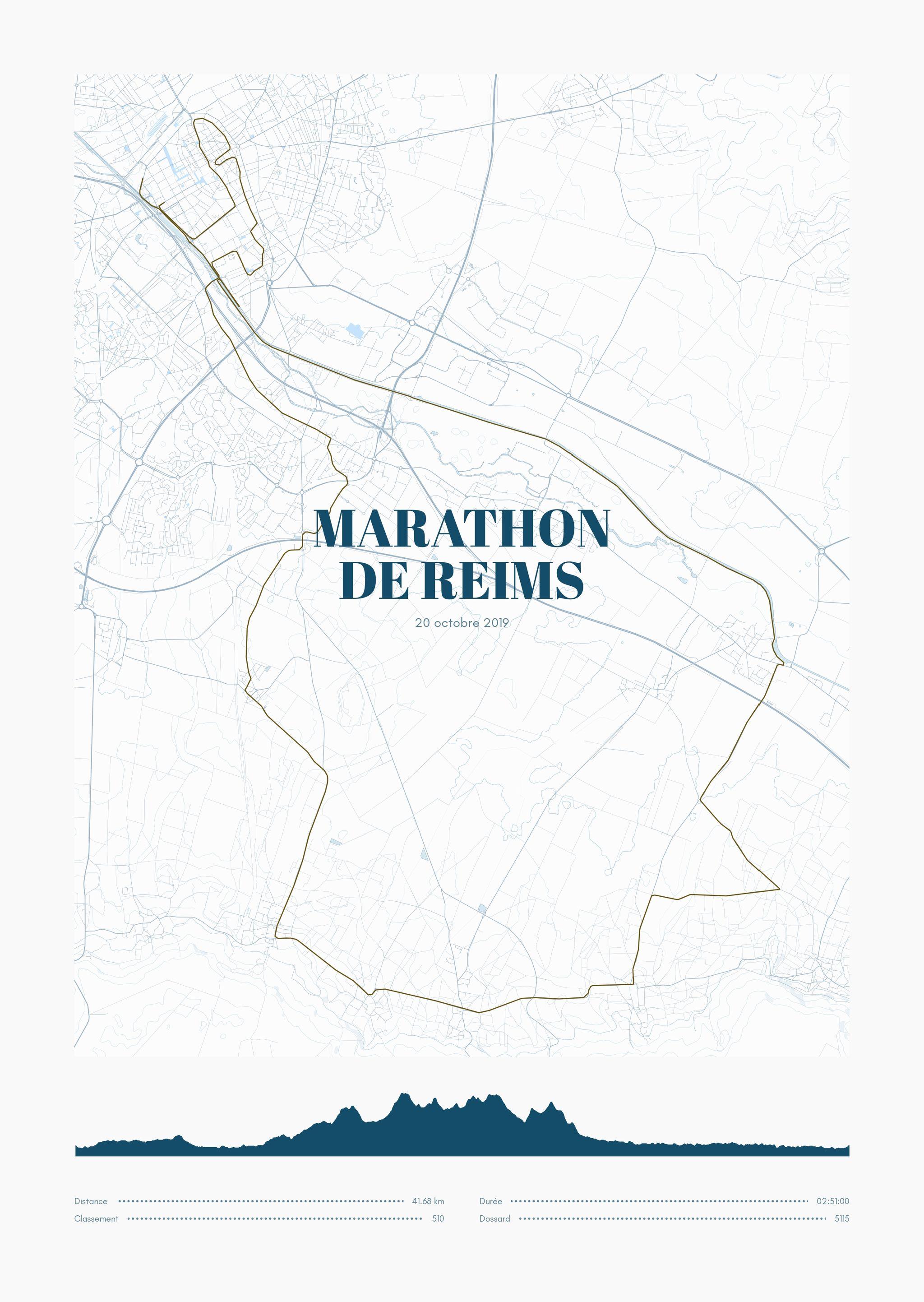 poster-Marathon  de Reims