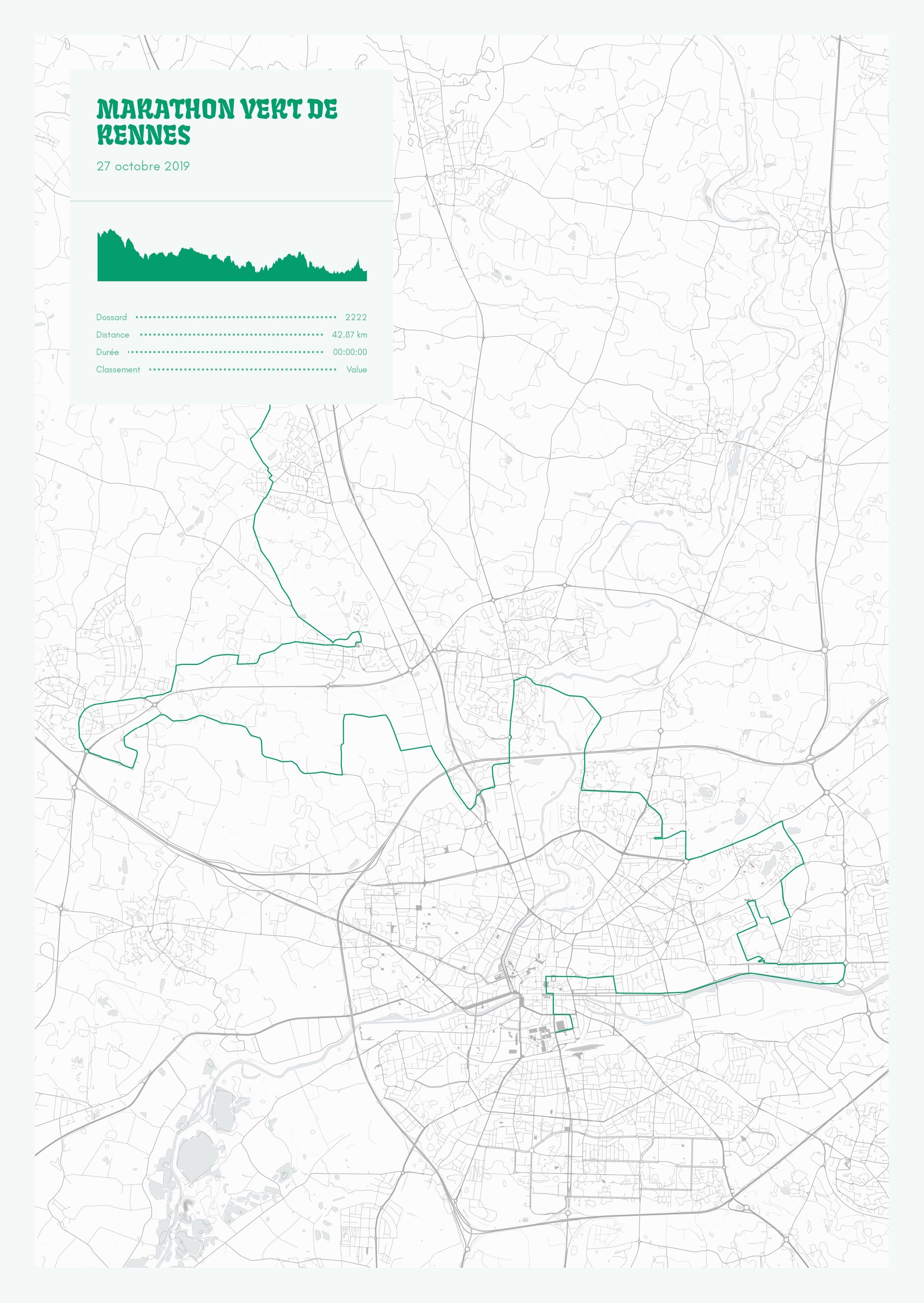poster-Marathon Vert de Rennes
